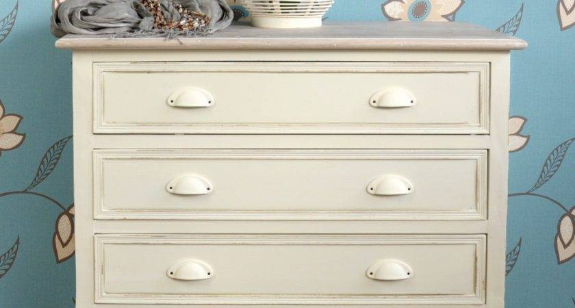 Shabby Chic Cream Furniture Stunning Bedside Table Chest