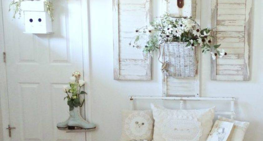 Shabby Chic Hallway Entryway Cor Ideas Shelterness