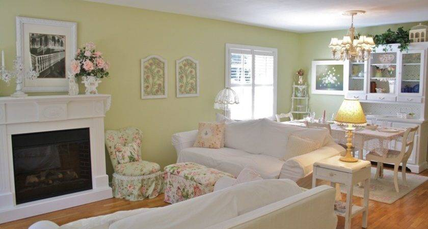 Shabby Chic Living Room Ideas Furniture Basic