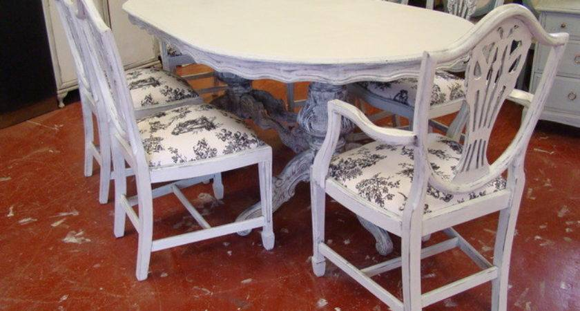 Shabby Chic Louis Style Vintage Dining Table Folksy