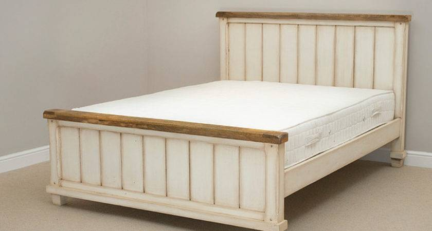 Shabby Chic Solid Mango King Bedwith Cashback