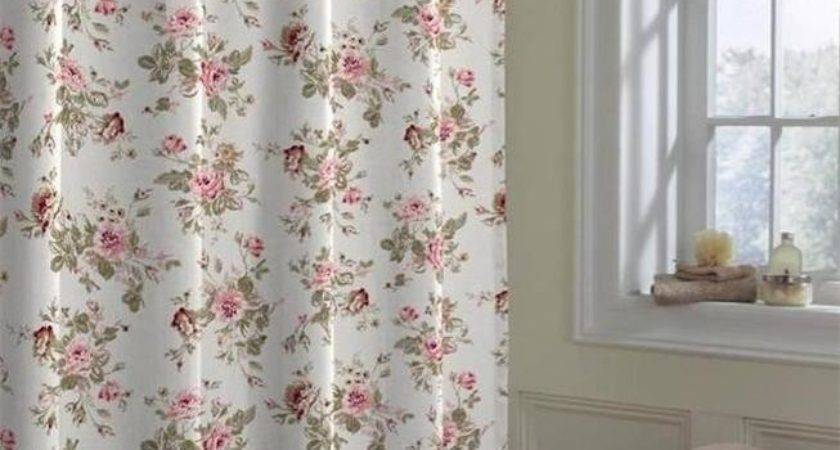 Shabby Vintage Pink Country French Cottage Wild Roses Chic