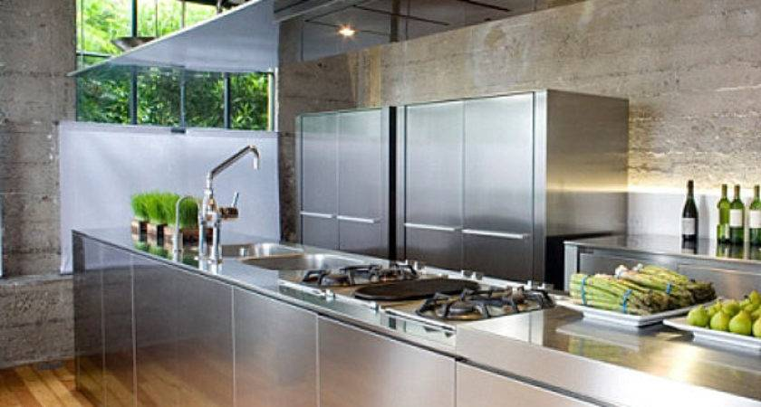 Shiny Kitchen Metal Decor Your Culinary Space