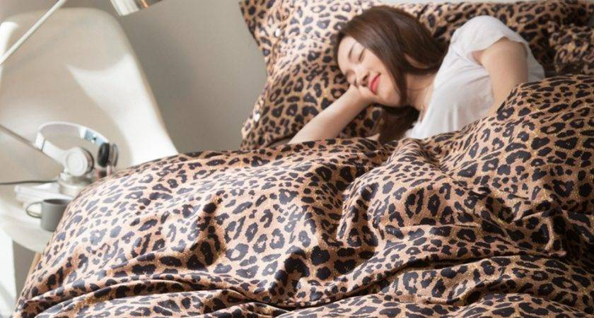 Shipping Buy Best Egyptian Cotton Leopard Print