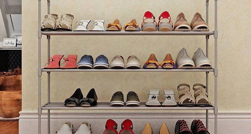 Shoe Rack Organizer Storage Tier Space Shelf Closet