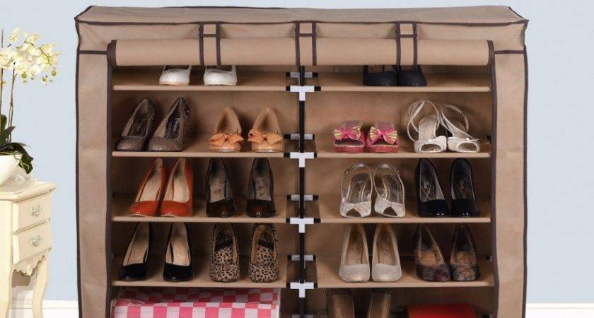 Shoe Storage Solutions Kids Cabinet Rack Room