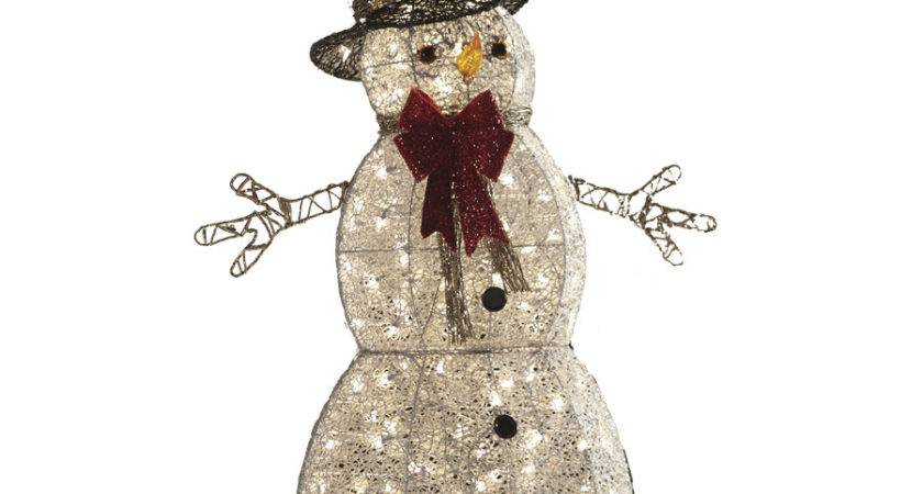 Shop Holiday Living Piece Snowman Outdoor Christmas