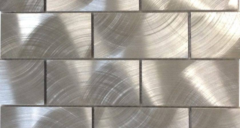 Shop Industrial Silver Aluminum Tile