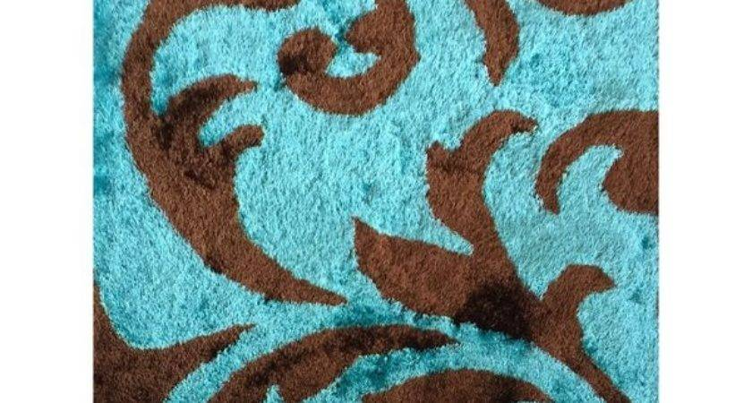 Shop Rug Addiction Hand Tufted Polyester Turquoise