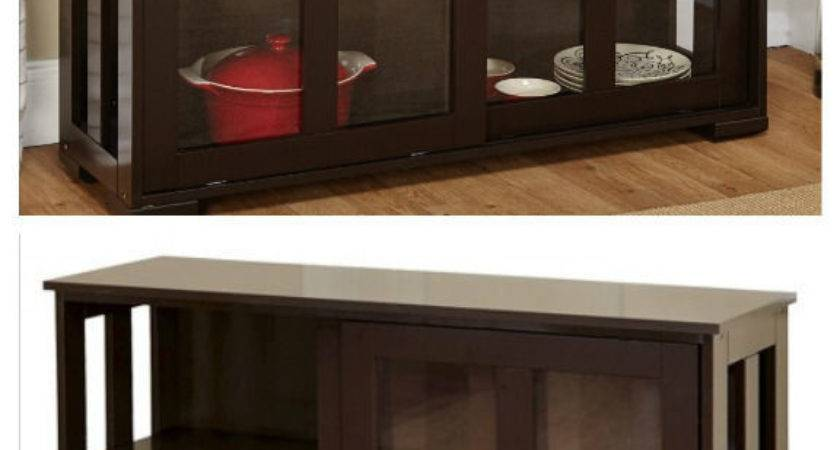 Sideboard Buffet Curio Cabinet Dining Server Kitchen
