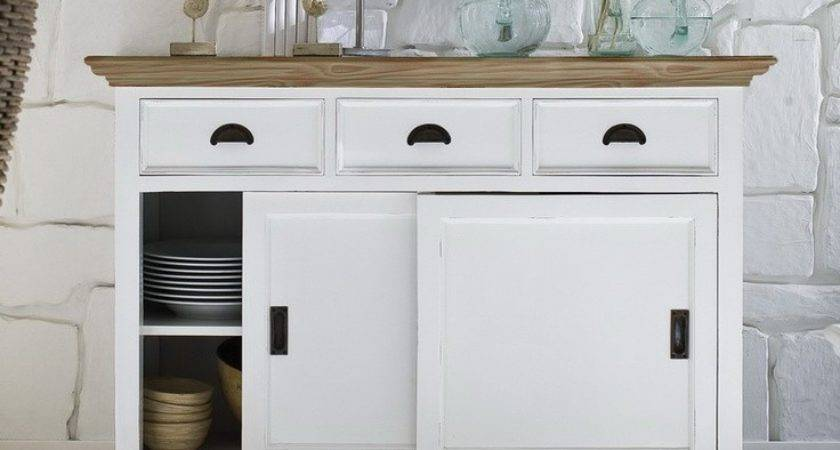 Sideboards Interesting White Hutch Cabinet