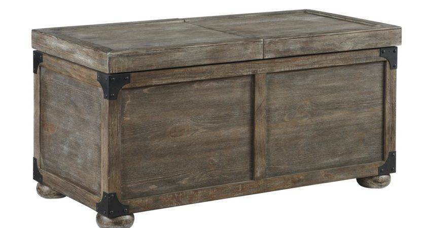 Signature Design Ashley Rustic Accents Storage