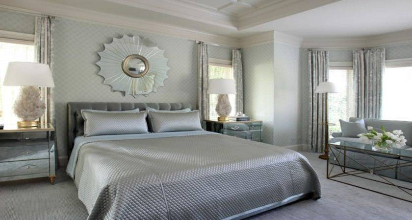 Silver Bedroom Ideas Grey Bedding Blue