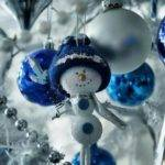 Silver Blue Cor Ideas Christmas New Year