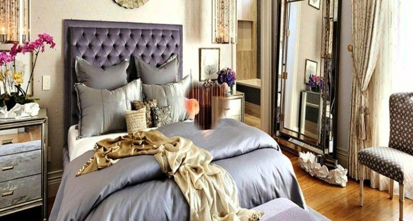 Silver Gold Bedroom Decorating Ideas