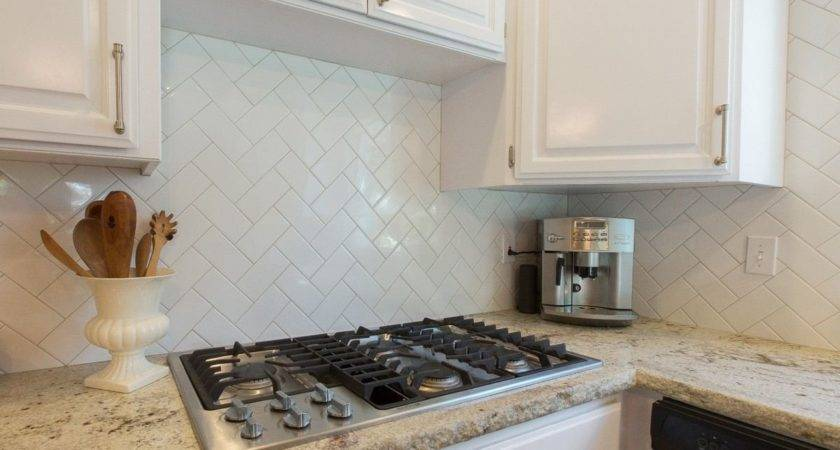 Silver Subway Tile Backsplash Artenzo