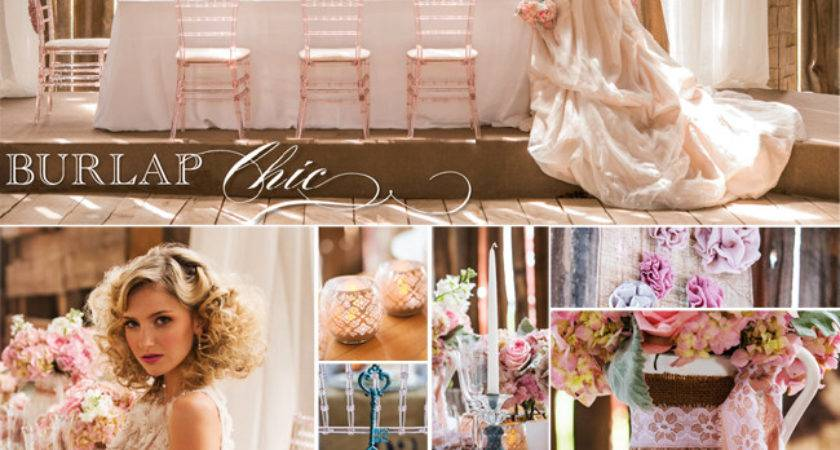 Simple Elegance Rustic Shabby Chic Wedding Theme