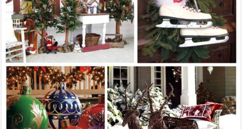 Simple Outdoor Christmas Decoration Ideas Designcorner