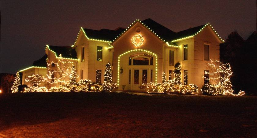 Simple Outdoor Christmas Light Ideas Home Lighting