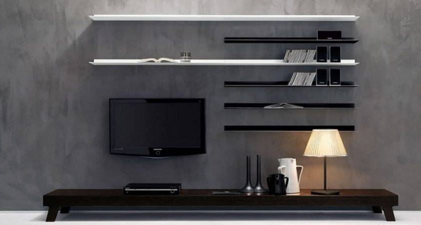 Simple Wall Mounted Unit Designs Your Room
