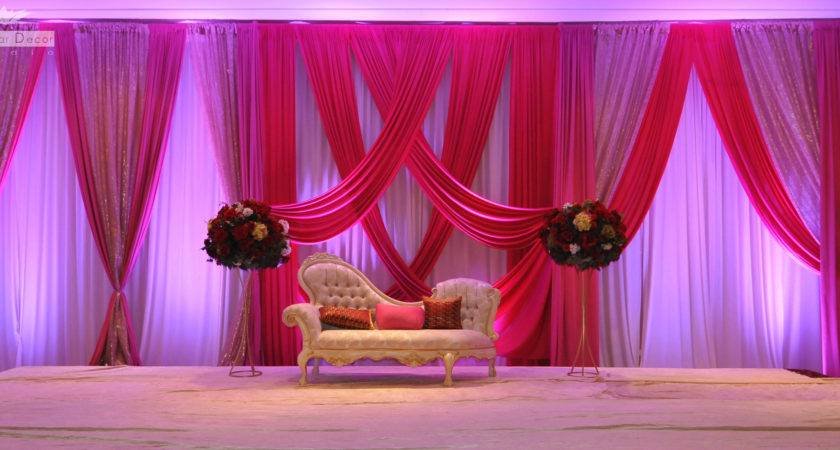 Simple Wedding Stage Decorations Reception Homemade