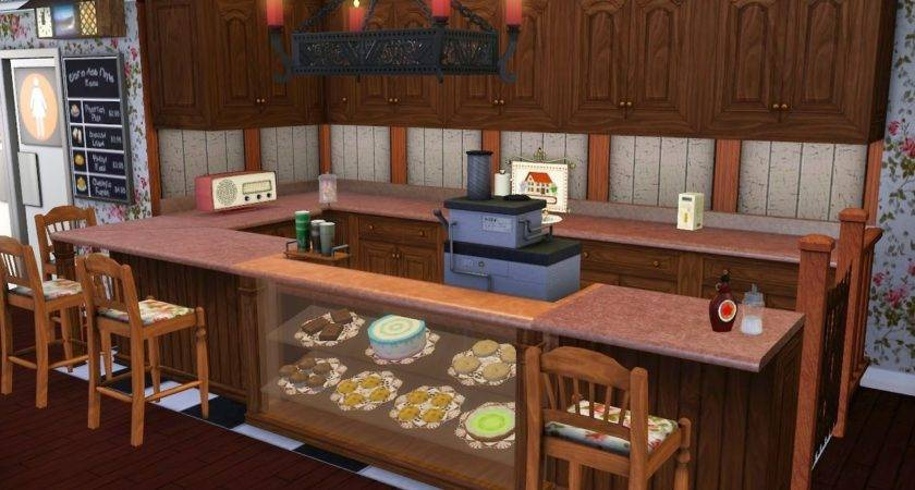 Sims Sophia Coffee House Veronsim Custom Content