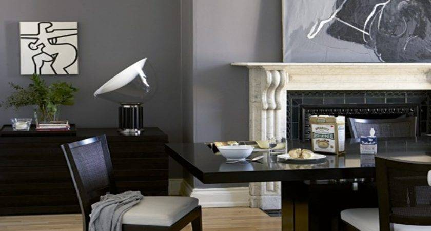 Slate Grey Living Room
