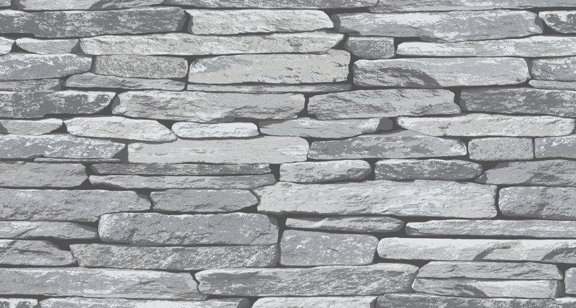Slate Stone Wall Effect Modern Feature