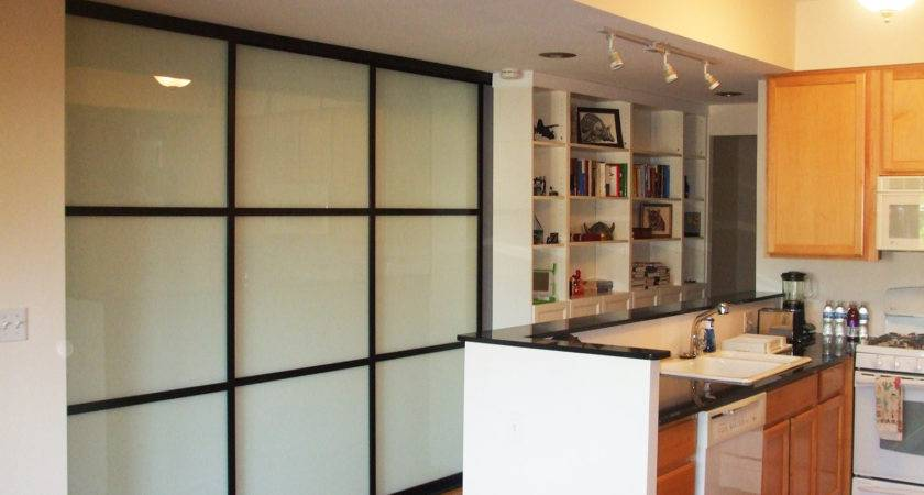 Sliding Glass Doors Kitchen Pantry
