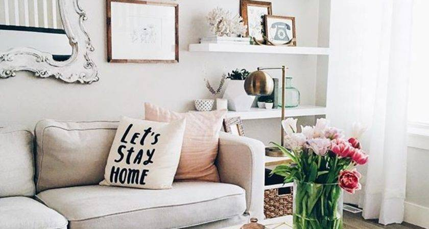 Small Apartment Ideas Unexpected Places Shelves