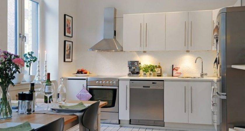 Small Apartment Kitchen Design Smart Home