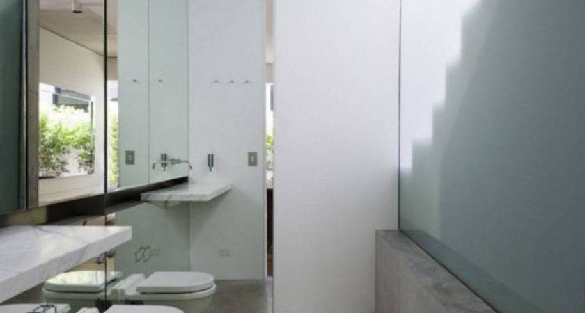 Small Bathroom Design Concrete Decosee