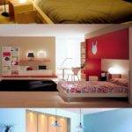 Small Bedroom Color Lighting Mirror Ideas Interior