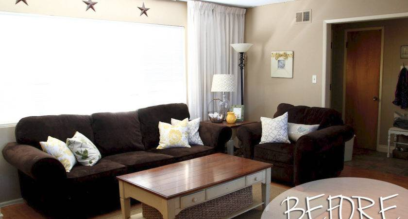 Small Brown Living Room Ideas