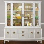 Small Corner Hutch Dining Room China Cabinet
