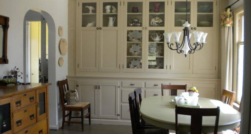 Small Dining Room Storage Home Office Area