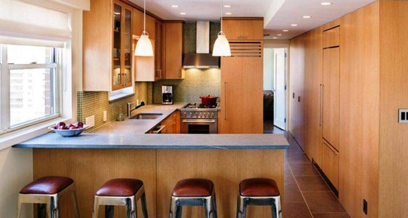 Top 21 Photos Ideas For Small Kitchen Layouts With Breakfast Bar Homes Decor