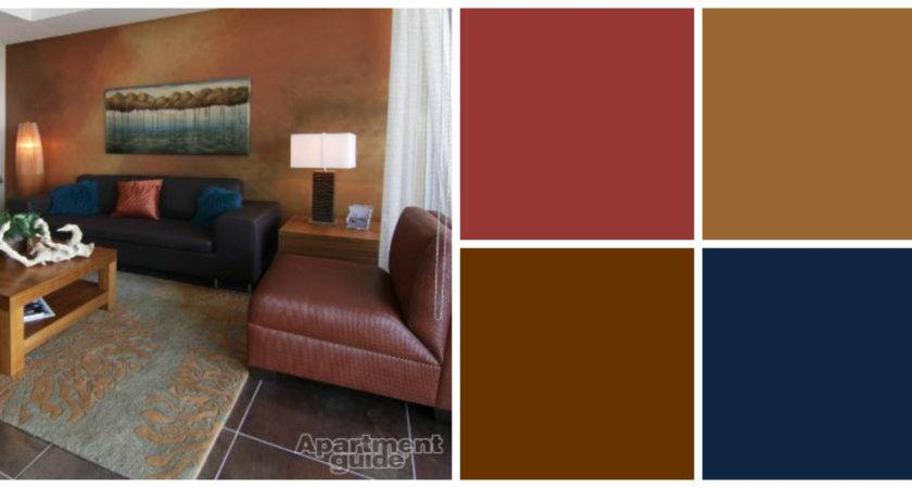 Small Living Room Earth Tone Color Palette Paint