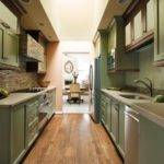 Small Narrow Kitchen Design Decor