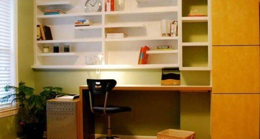 Small Office Shelving Ideas Home Interiors