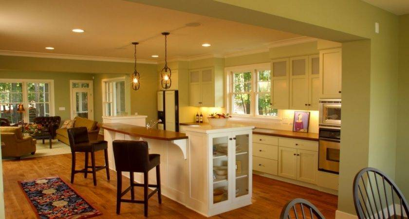 Small Open Style Kitchen Designs Spaces