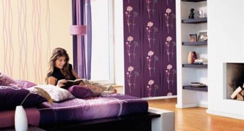 Small Purple Bedrooms Home Decorating Ideas