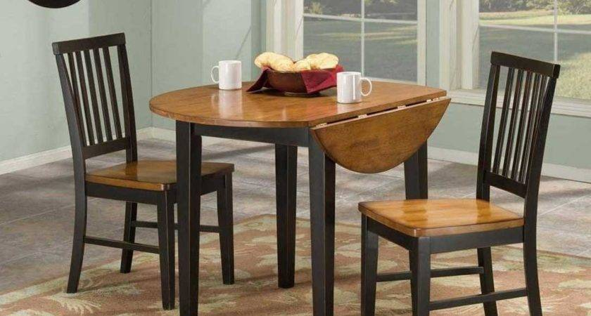 Small Round Old Drop Leaf Kitchen Table Ideas