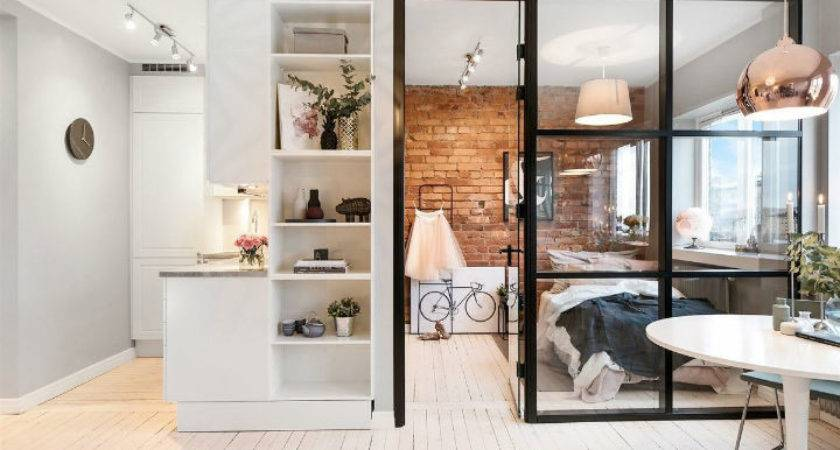 Small Scandinavian Apartment Open Airy Design