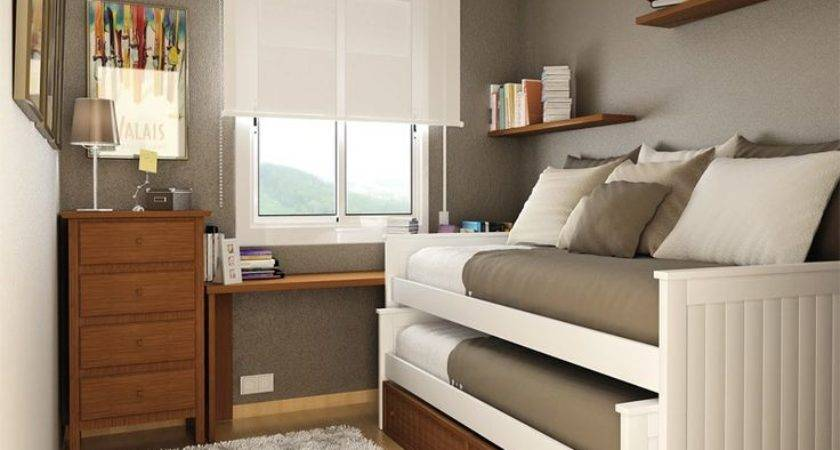 Small Space Bedroom Furniture Ideas Home Interior Designing