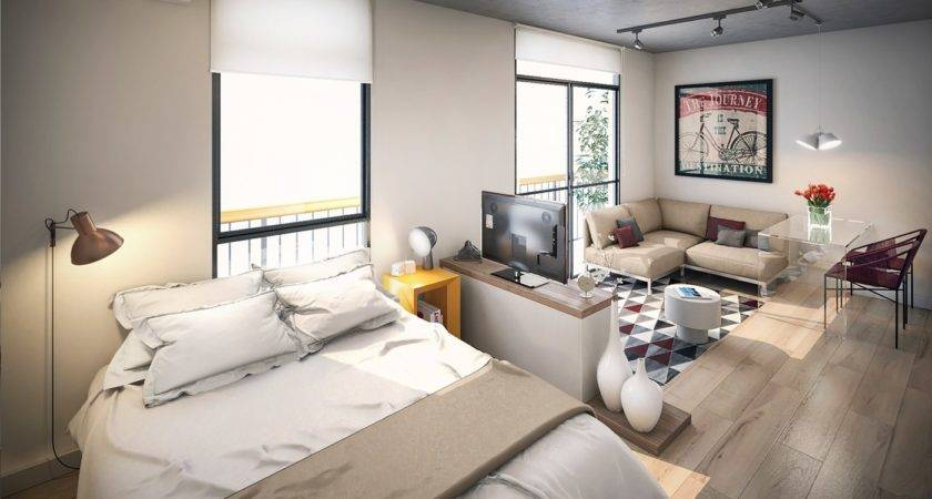 Small Studio Apartments Beautiful Design Efficient
