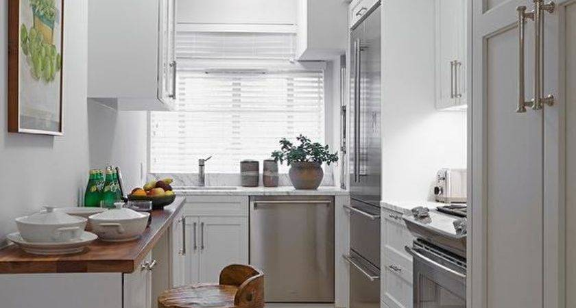 Small White Kitchens Transitional Kitchen