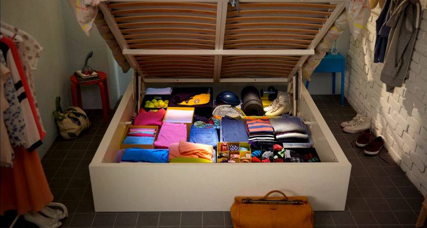 Smart Ideas Clothes Storage Small Space