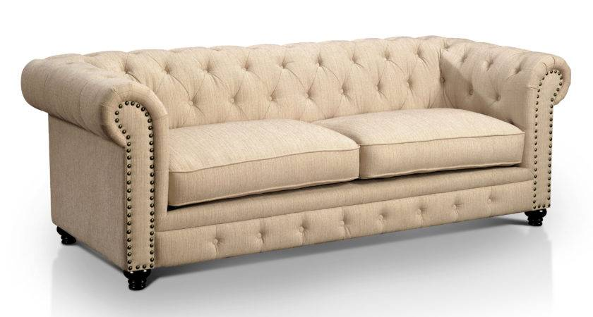 Sofa Tufted Leather Chesterfield Home Design Ideas
