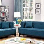 Sofia Dark Teal Sofa Furniture America